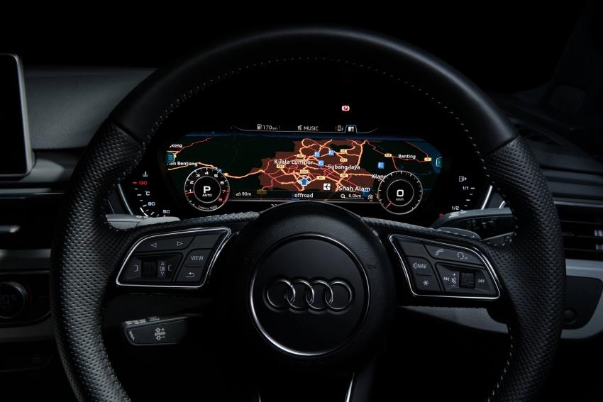 Audi A4 B9 dengan pakej Tech Pack dilancar untuk pasaran Malaysia – harga pengenalan bermula RM224k Image #718150