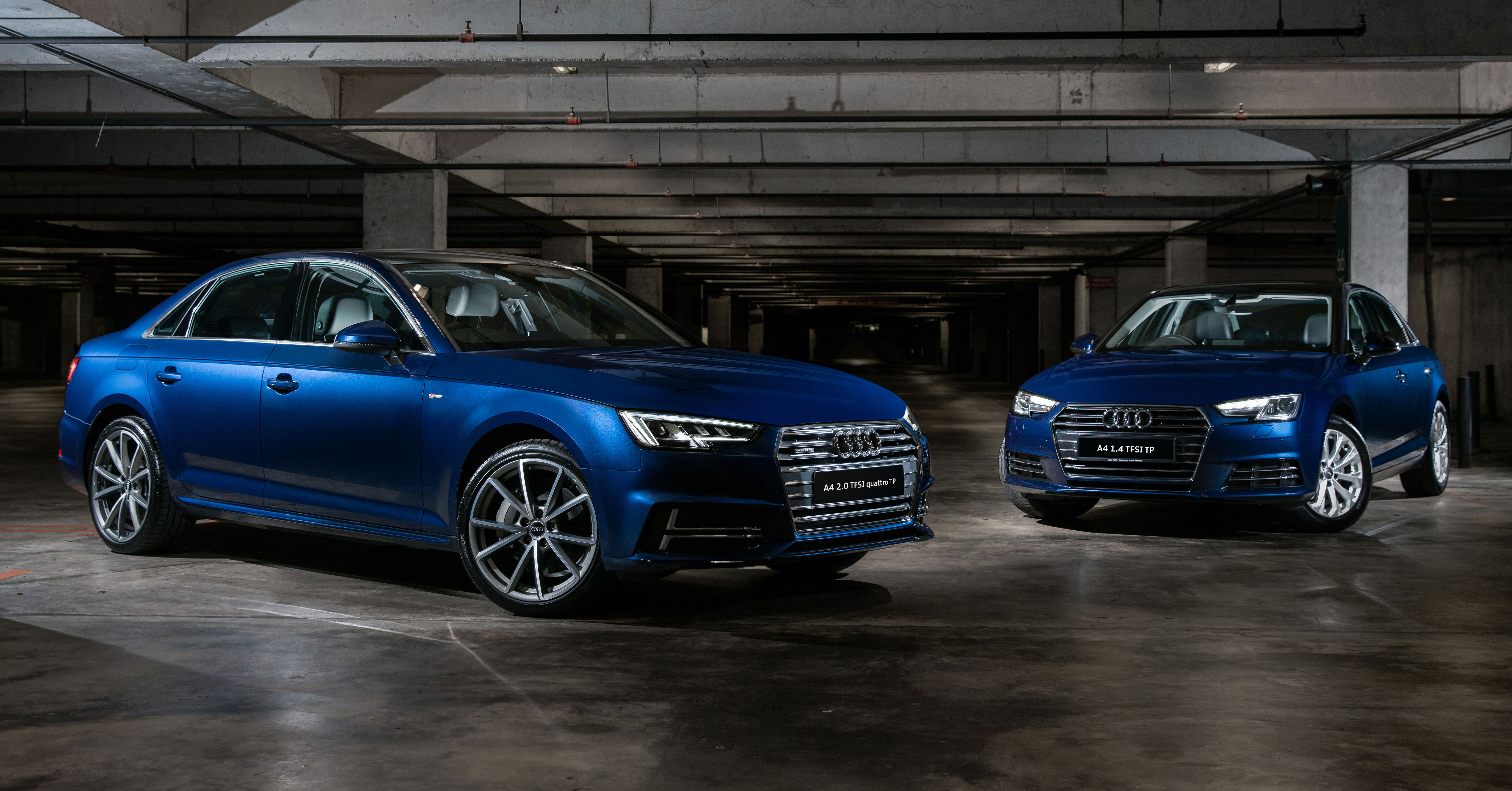 B9 Audi A4 Tech Pack Variants Launched In Malaysia 1 4