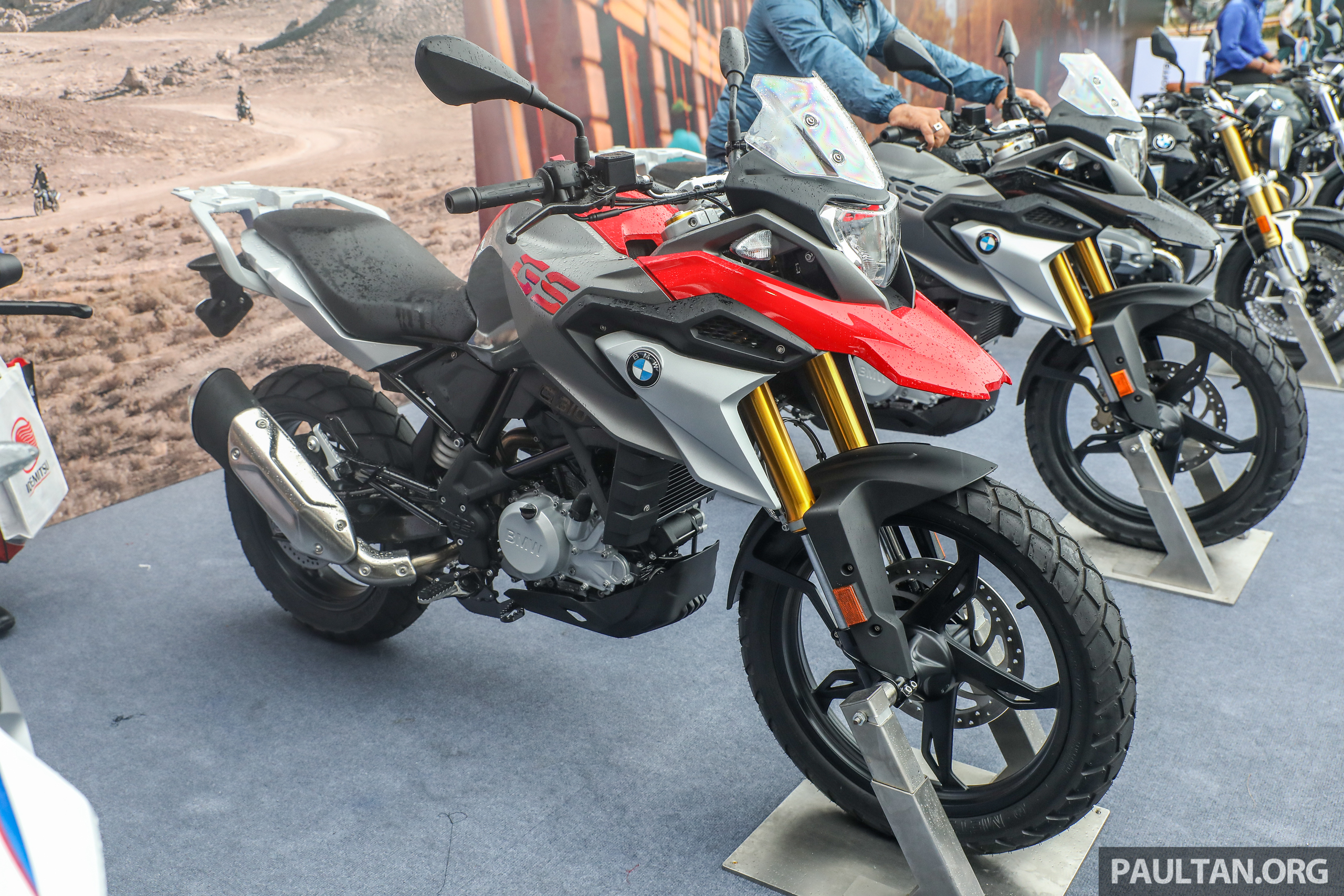 bmw g310gs arrives in malaysia rm29 900 incl gst. Black Bedroom Furniture Sets. Home Design Ideas