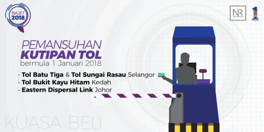 Toll collection to end at 4 toll booths from Jan 1, 2018 Image #729684