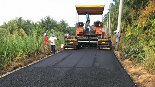 Teluk Intan first to get rubberised roads in Malaysia