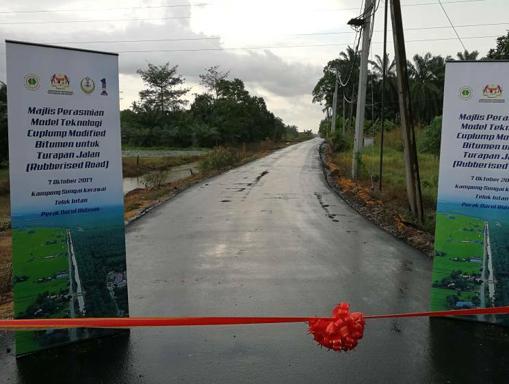 Teluk Intan first to get rubberised roads in Malaysia Image #723510