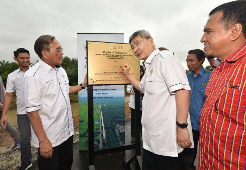 Teluk Intan first to get rubberised roads in Malaysia Image #723505