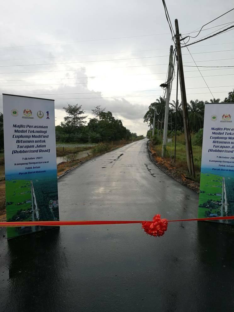 Teluk Intan first to get rubberised roads in Malaysia Image #723506