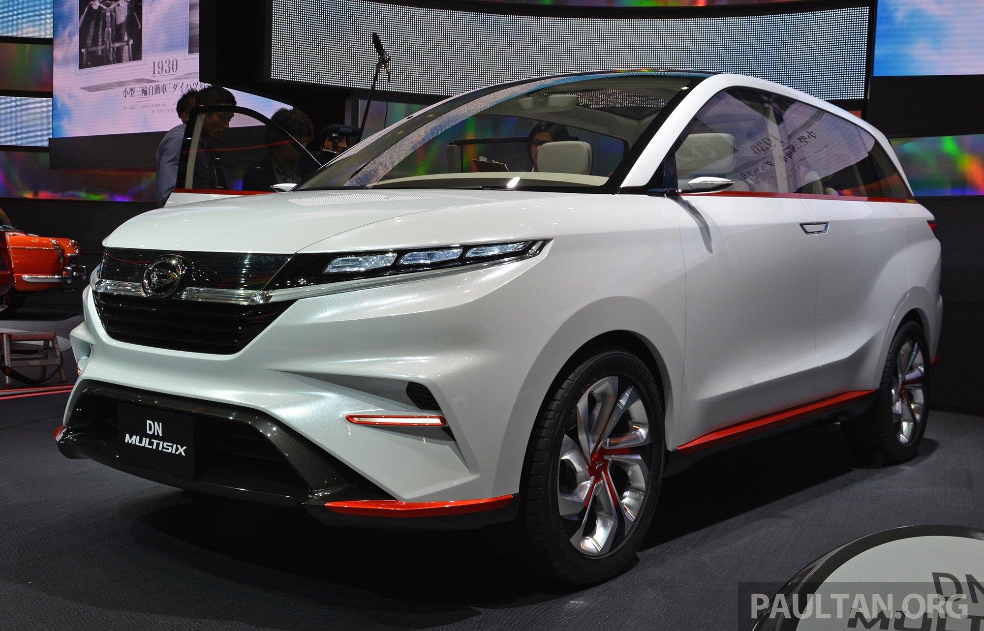 Tokyo 2017  Daihatsu Multisix  New Avanza Previewed