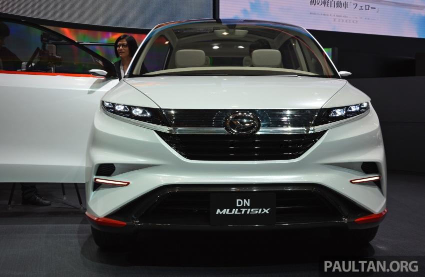 Tokyo 2017: Daihatsu Multisix, new Avanza previewed? Image #730462