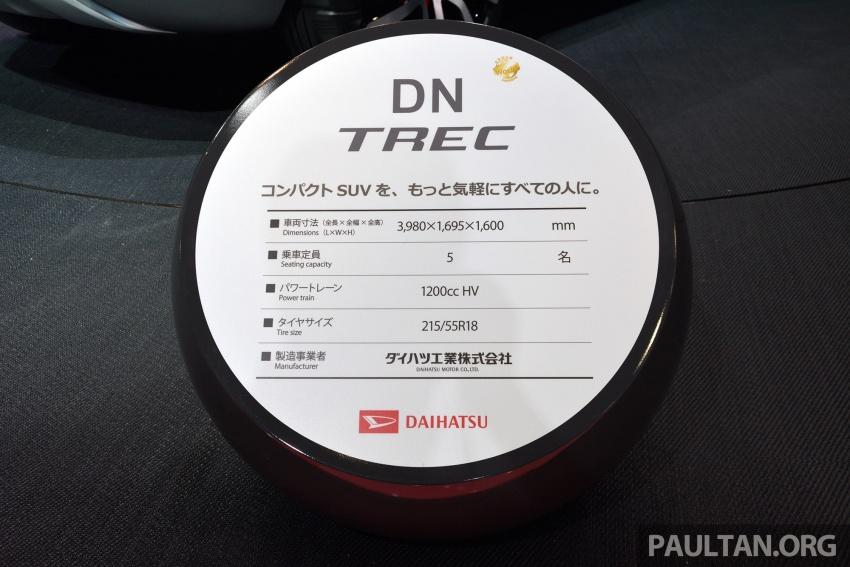 Tokyo 2017: Daihatsu DN Trec – Perodua's new SUV? Image #727824