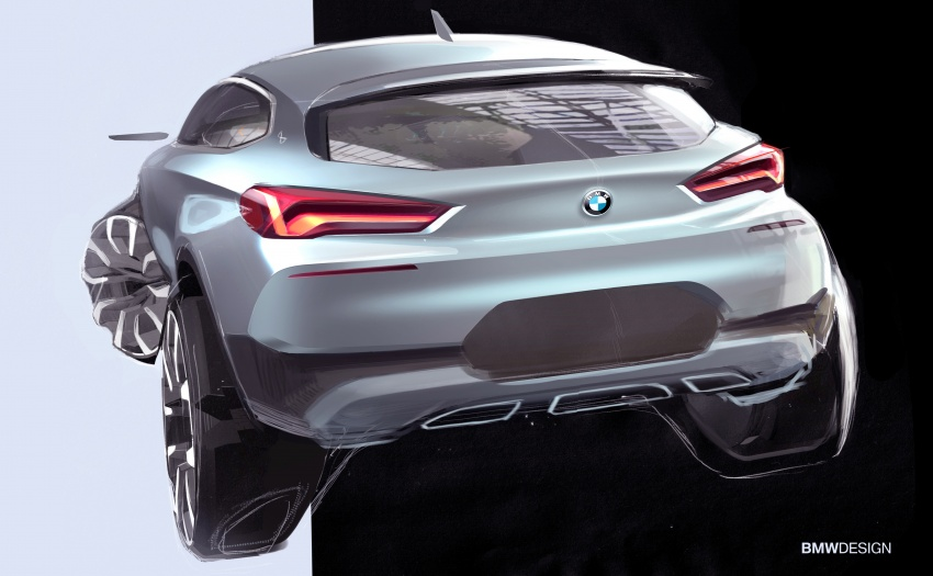 F39 BMW X2 unveiled with new M Sport X package Image #729012