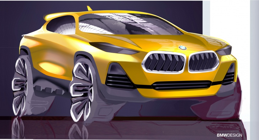 F39 BMW X2 unveiled with new M Sport X package Image #729013