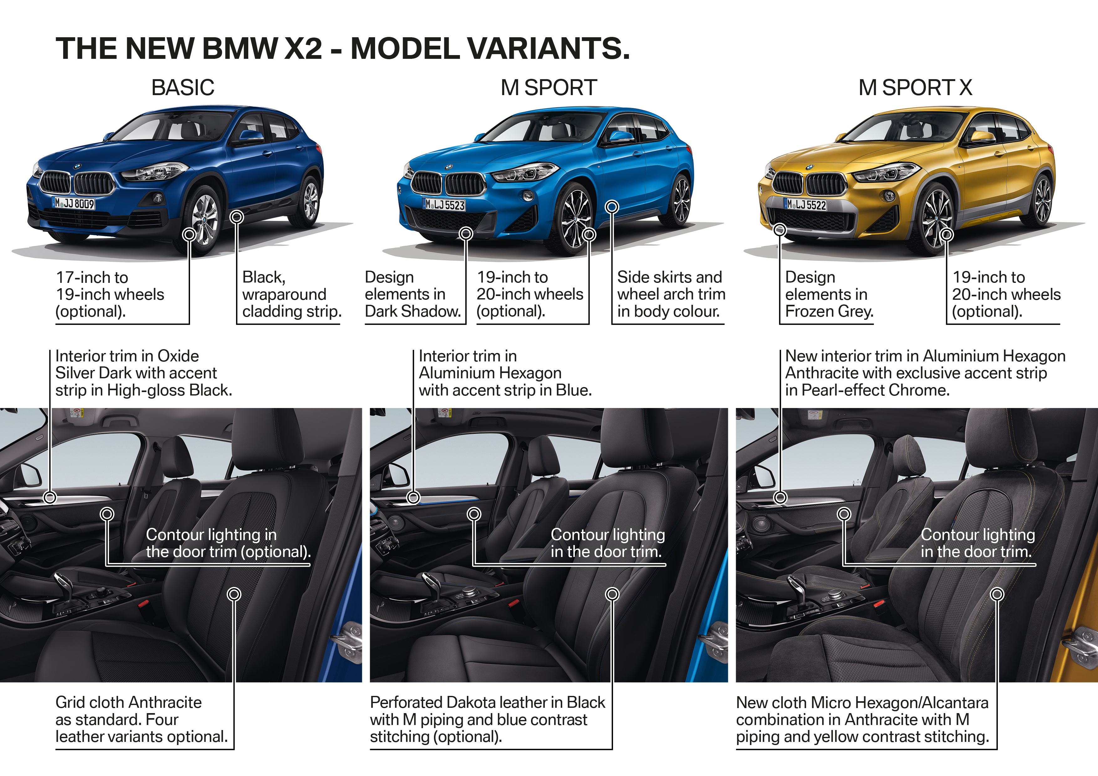 f39 bmw x2 unveiled with new m sport x package paul tan image 729025. Black Bedroom Furniture Sets. Home Design Ideas