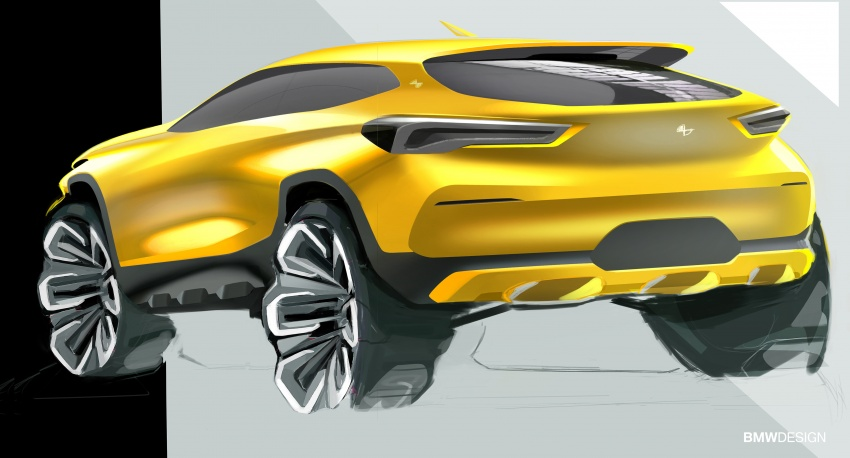 F39 BMW X2 unveiled with new M Sport X package Image #729014