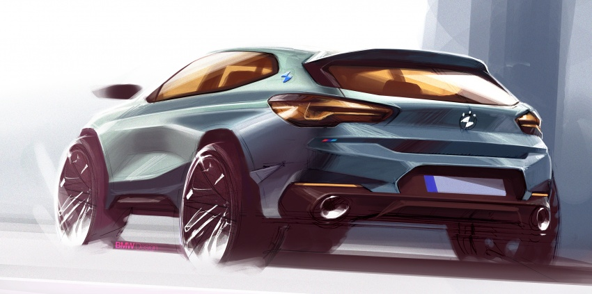 F39 BMW X2 unveiled with new M Sport X package Image #729020