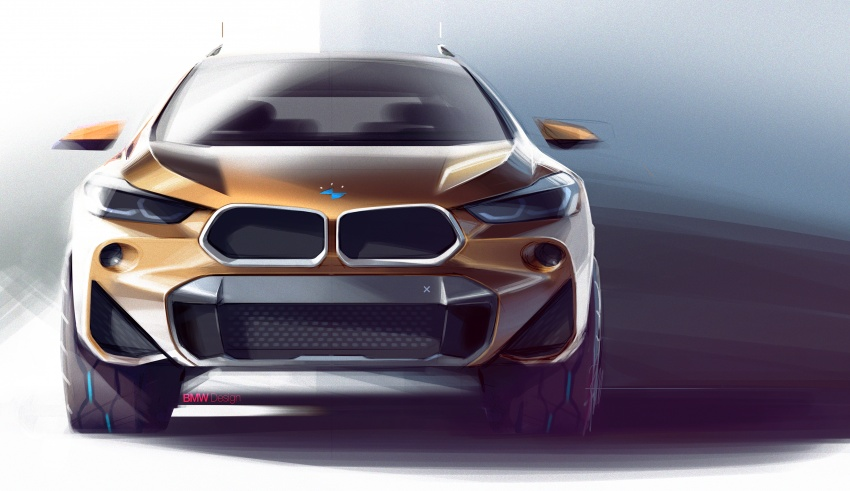 F39 BMW X2 unveiled with new M Sport X package Image #729021