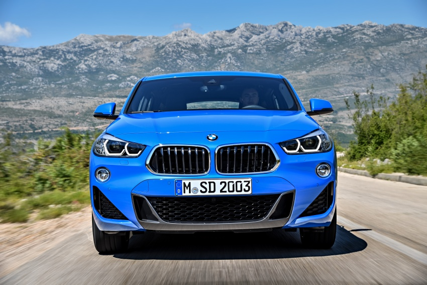 F39 BMW X2 unveiled with new M Sport X package Image #728983