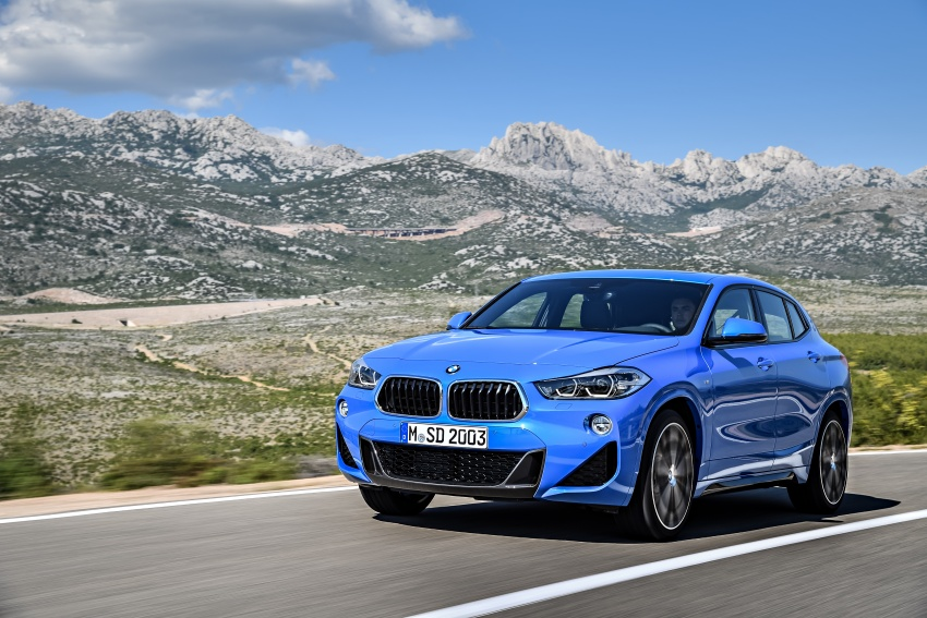 F39 BMW X2 unveiled with new M Sport X package Image #728984