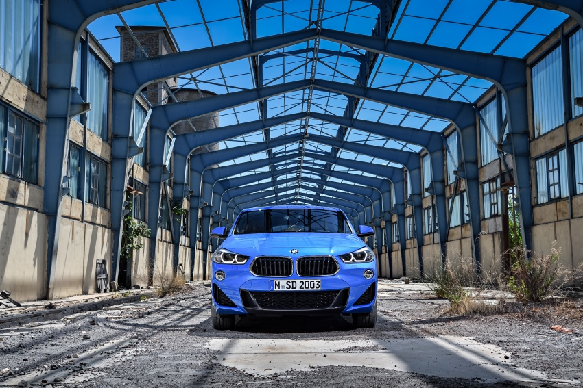 F39 BMW X2 unveiled with new M Sport X package Image #728998