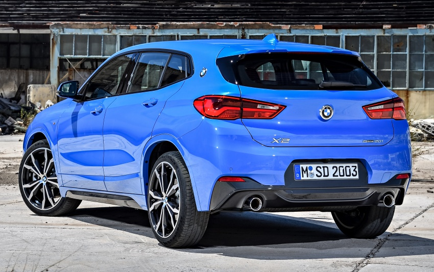 F39 BMW X2 unveiled with new M Sport X package Image #729000