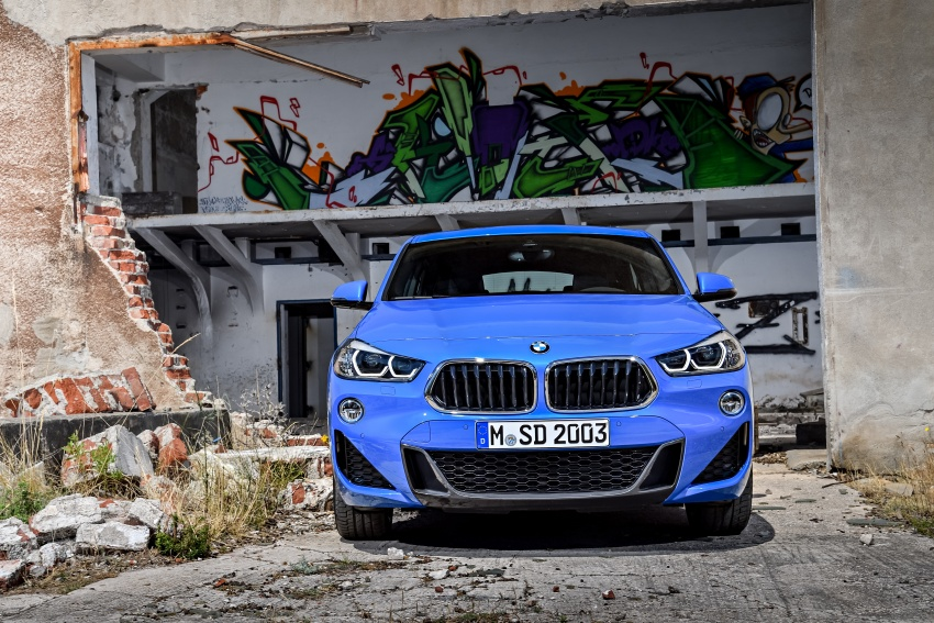 F39 BMW X2 unveiled with new M Sport X package Image #729002
