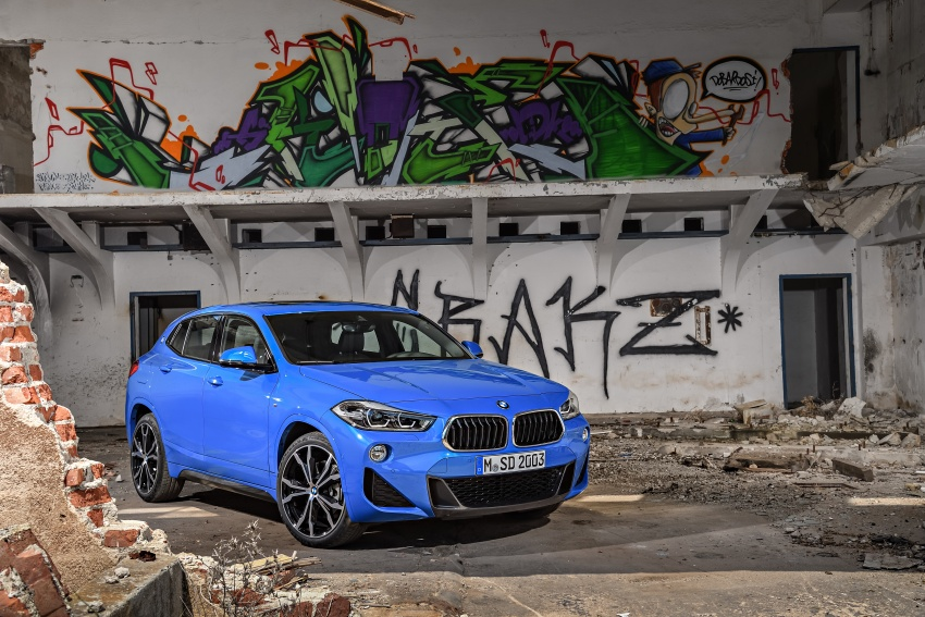 F39 BMW X2 unveiled with new M Sport X package Image #729003