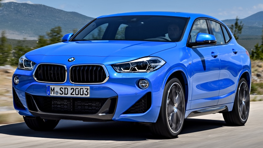F39 BMW X2 unveiled with new M Sport X package Image #729005