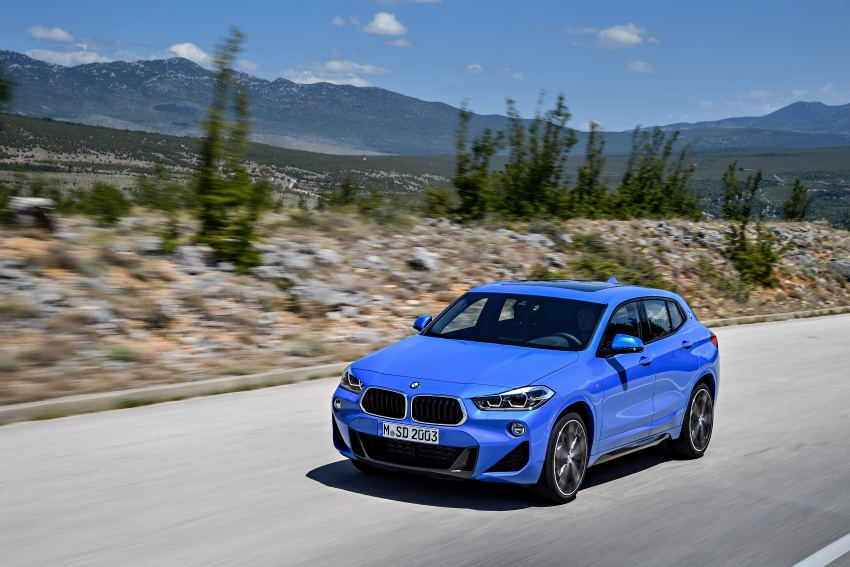F39 BMW X2 unveiled with new M Sport X package Image #729006