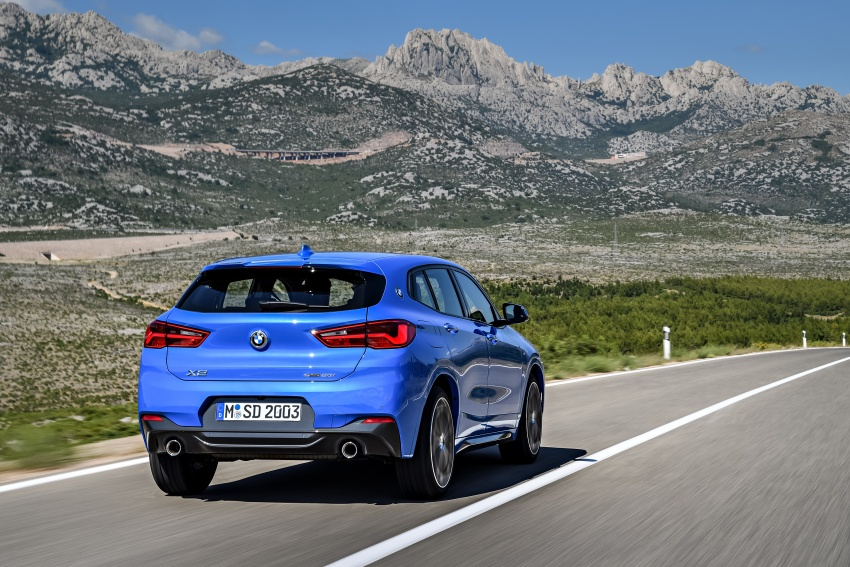 F39 BMW X2 unveiled with new M Sport X package Image #728985
