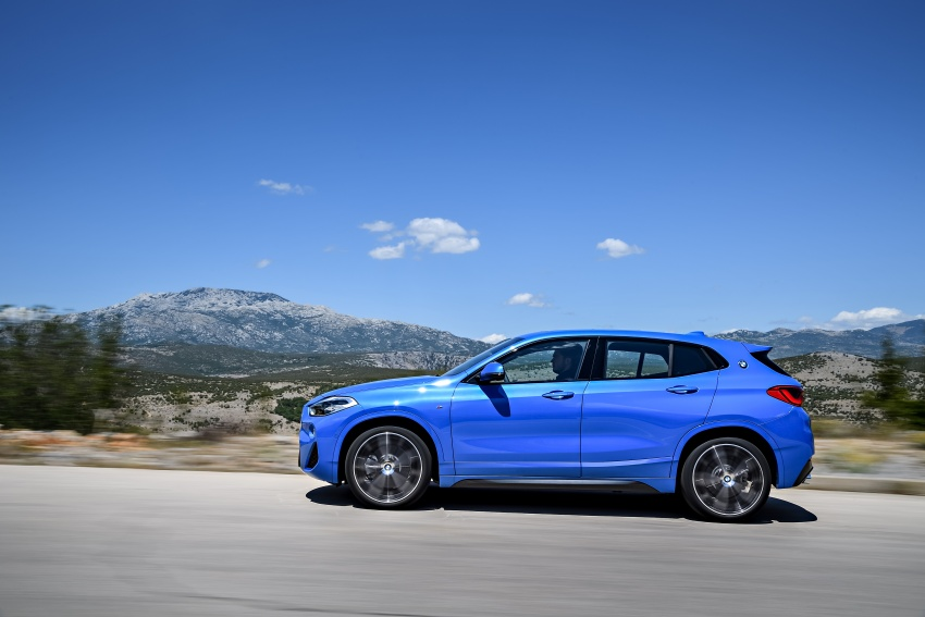 F39 BMW X2 unveiled with new M Sport X package Image #729007
