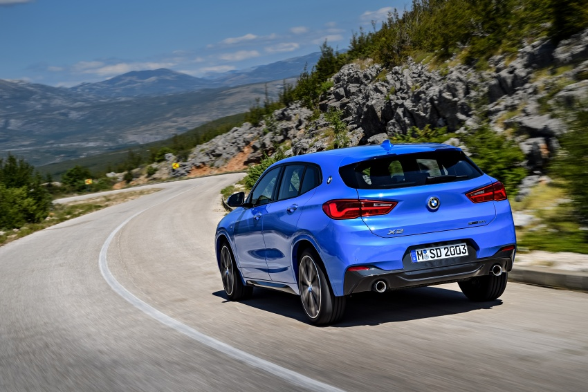 F39 BMW X2 unveiled with new M Sport X package Image #729009