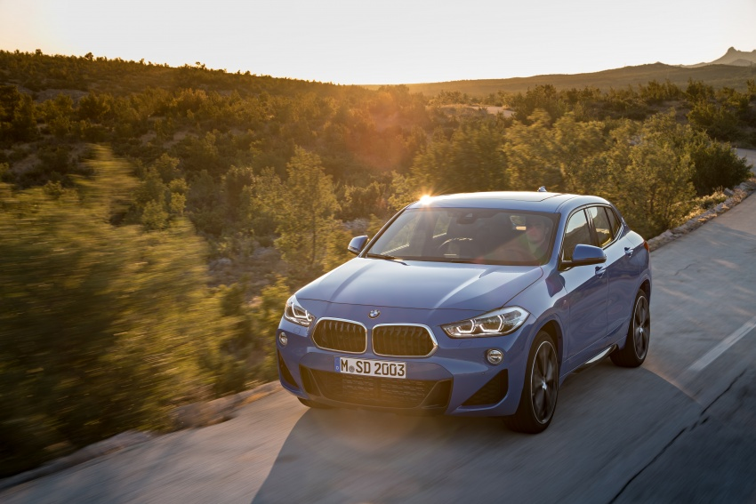 F39 BMW X2 unveiled with new M Sport X package Image #728986