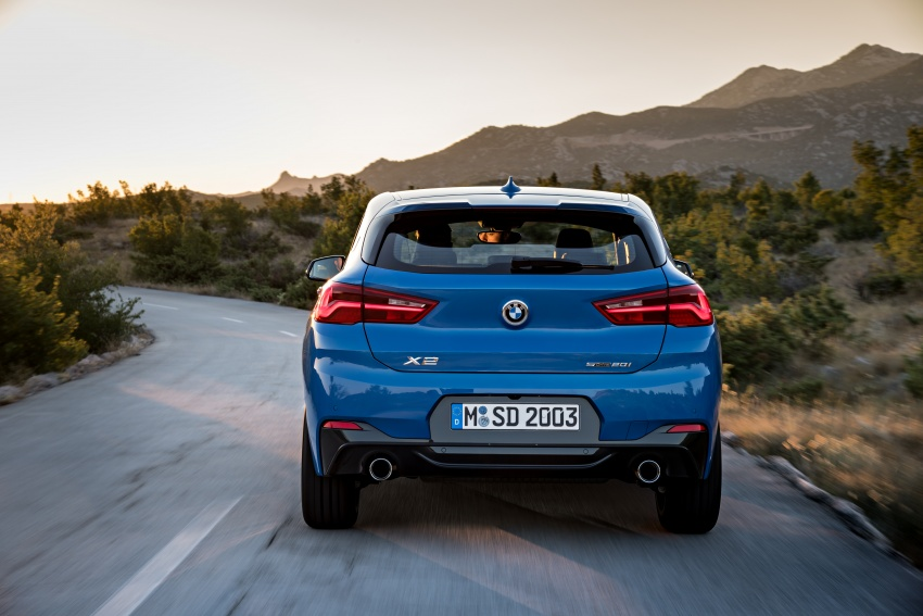 F39 BMW X2 unveiled with new M Sport X package Image #728987