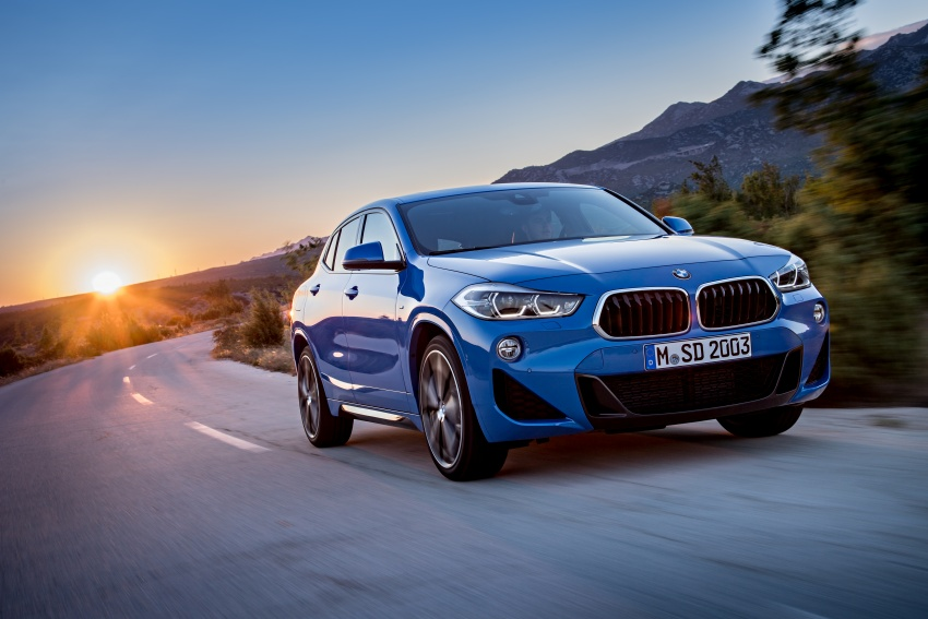 F39 BMW X2 unveiled with new M Sport X package Image #728989