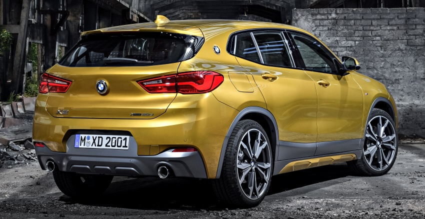 F39 BMW X2 unveiled with new M Sport X package Image #728951