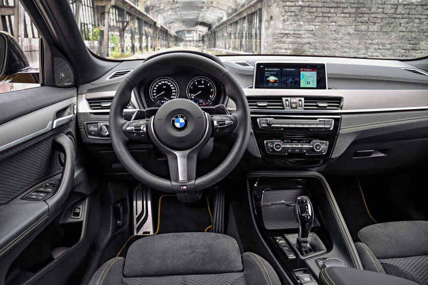 F39 BMW X2 unveiled with new M Sport X package Image #728953