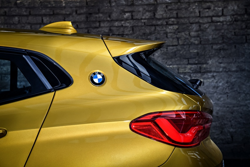 F39 BMW X2 unveiled with new M Sport X package Image #728955