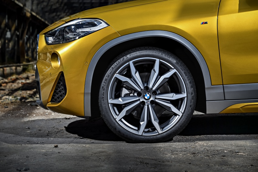 F39 BMW X2 unveiled with new M Sport X package Image #728958