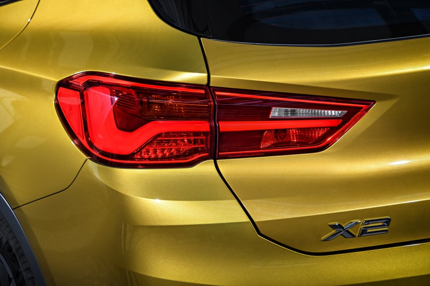 F39 BMW X2 unveiled with new M Sport X package Image #728959