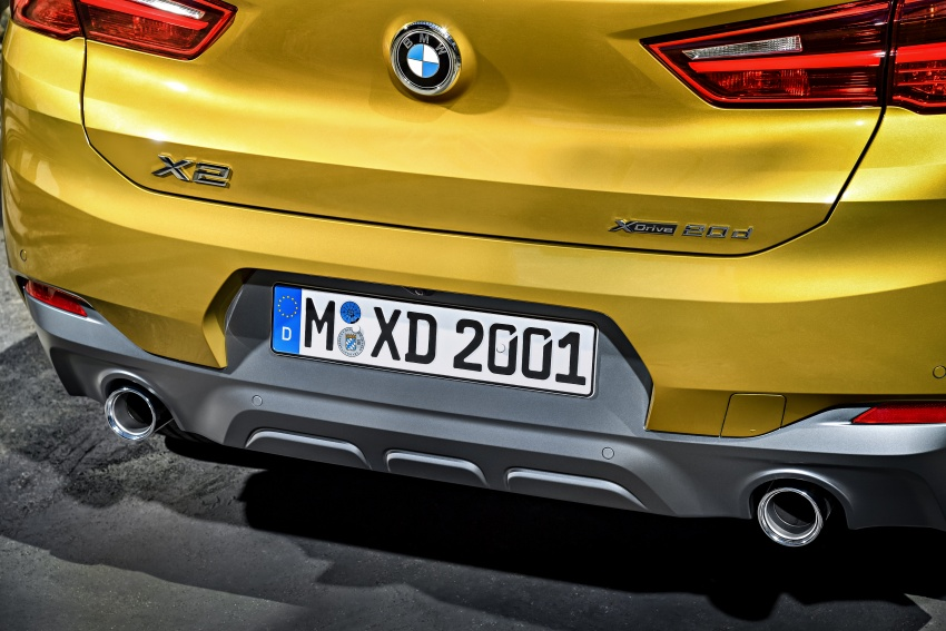 F39 BMW X2 unveiled with new M Sport X package Image #728960