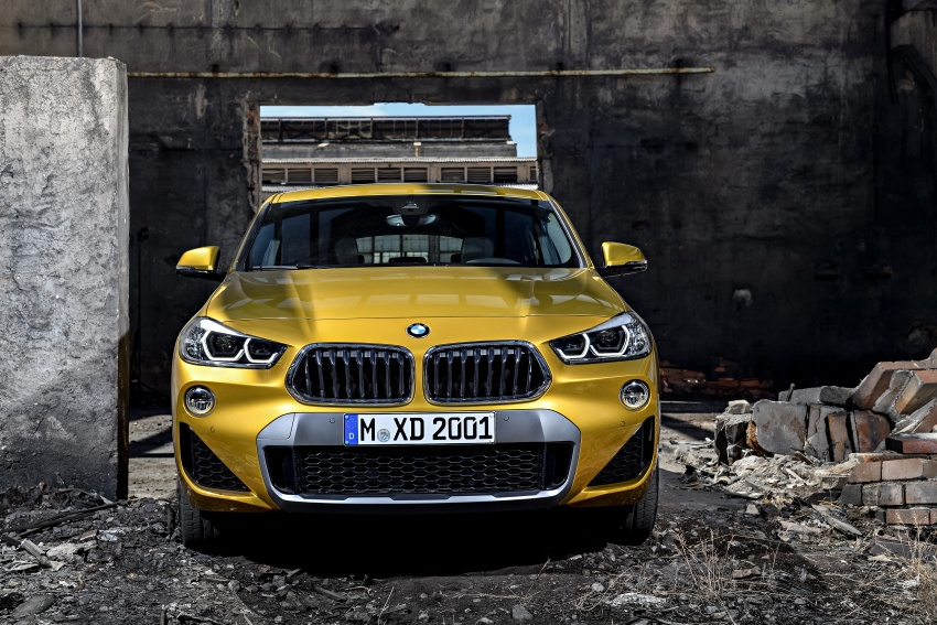 F39 BMW X2 unveiled with new M Sport X package Image #728961