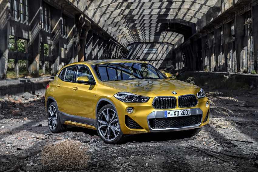 F39 BMW X2 unveiled with new M Sport X package Image #728963