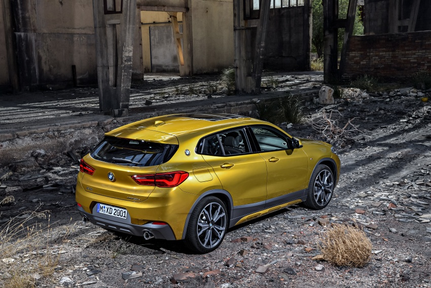 F39 BMW X2 unveiled with new M Sport X package Image #728964
