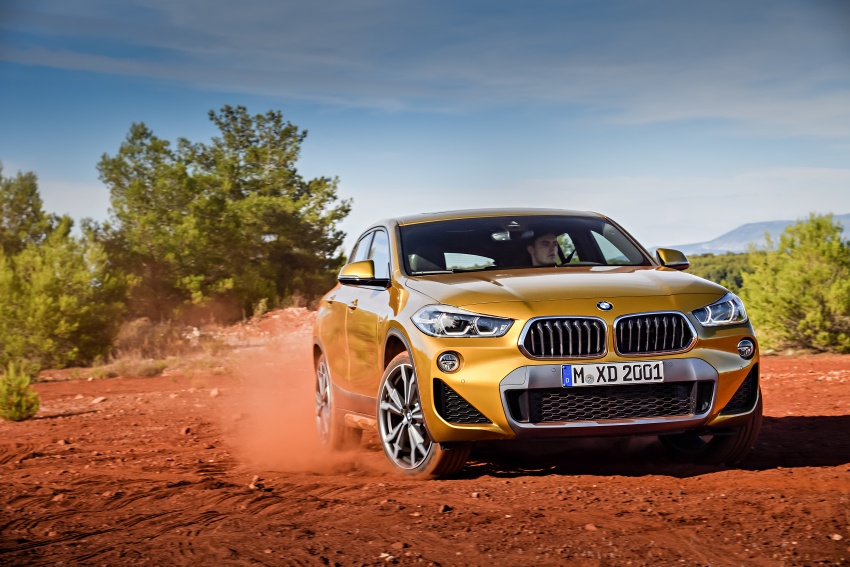 F39 BMW X2 unveiled with new M Sport X package Image #728965