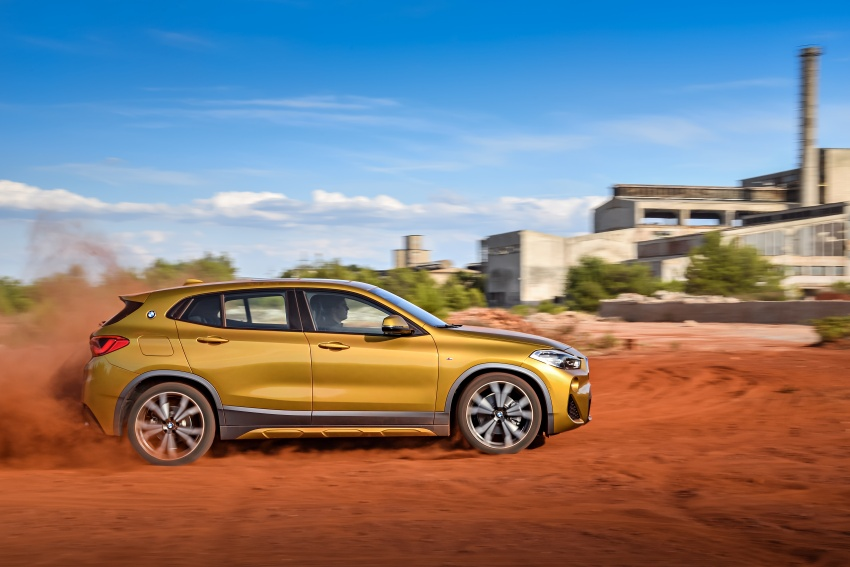 F39 BMW X2 unveiled with new M Sport X package Image #728966