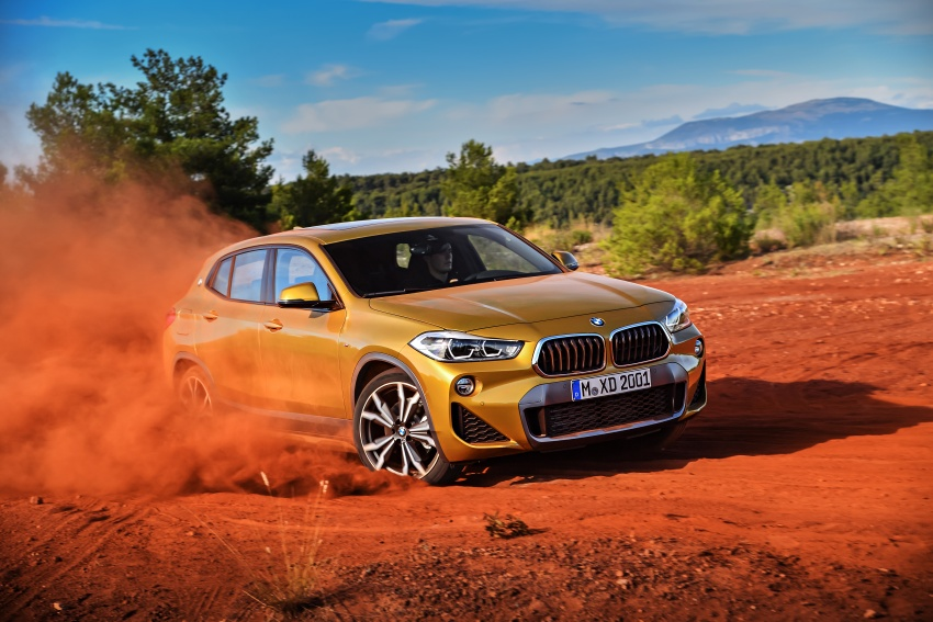 F39 BMW X2 unveiled with new M Sport X package Image #728967