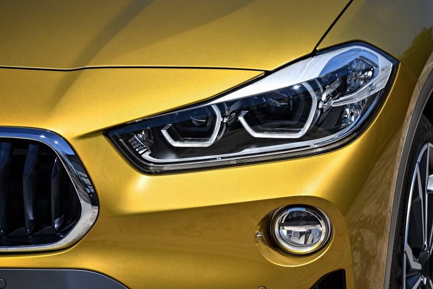 F39 BMW X2 unveiled with new M Sport X package Image #728968
