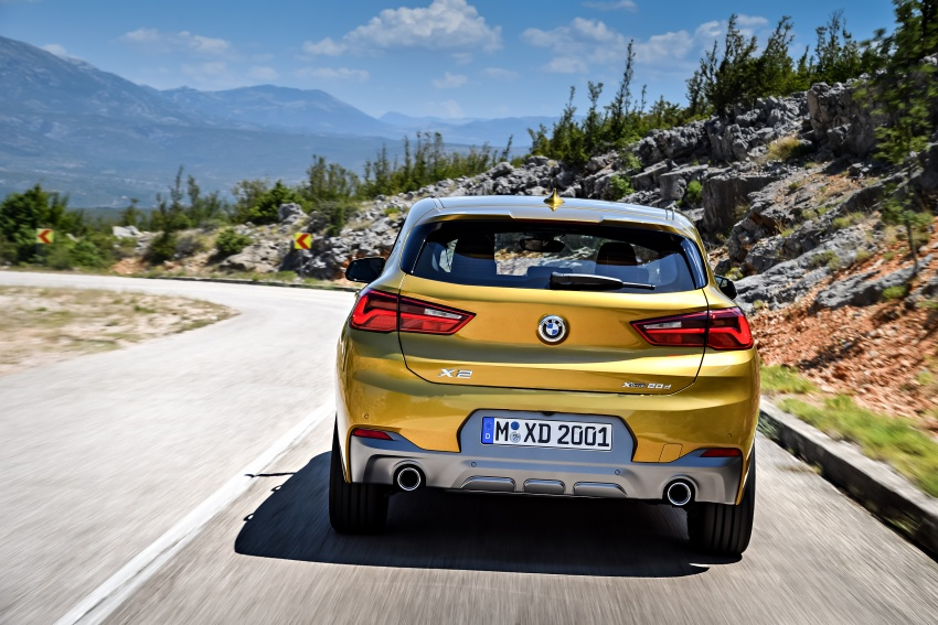 F39 BMW X2 unveiled with new M Sport X package Image #728969
