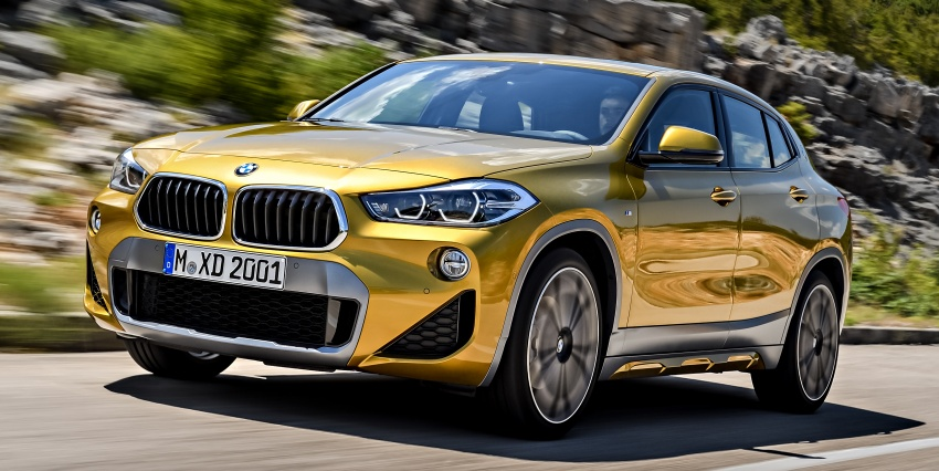 F39 BMW X2 unveiled with new M Sport X package Image #728970