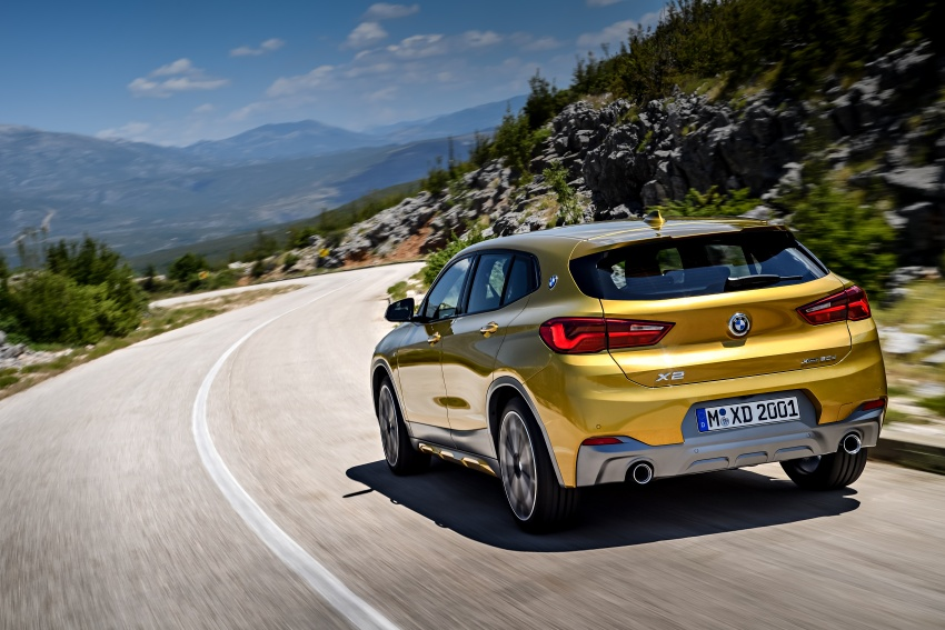 F39 BMW X2 unveiled with new M Sport X package Image #728971