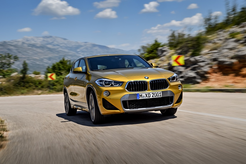F39 BMW X2 unveiled with new M Sport X package Image #728972