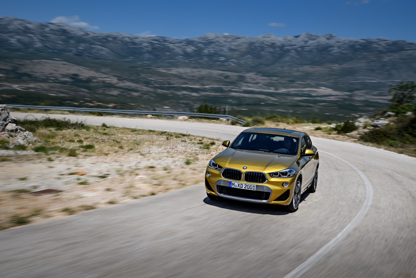 F39 BMW X2 unveiled with new M Sport X package Image #728973