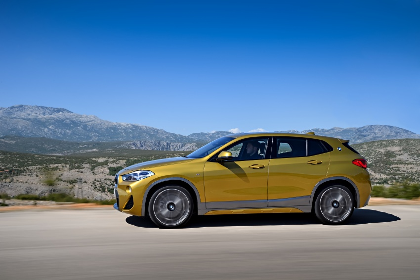 F39 BMW X2 unveiled with new M Sport X package Image #728974